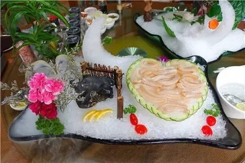 象拔蚌刺身-这家餐厅,让你叹尽各种海鲜刺身 李星吃哪样