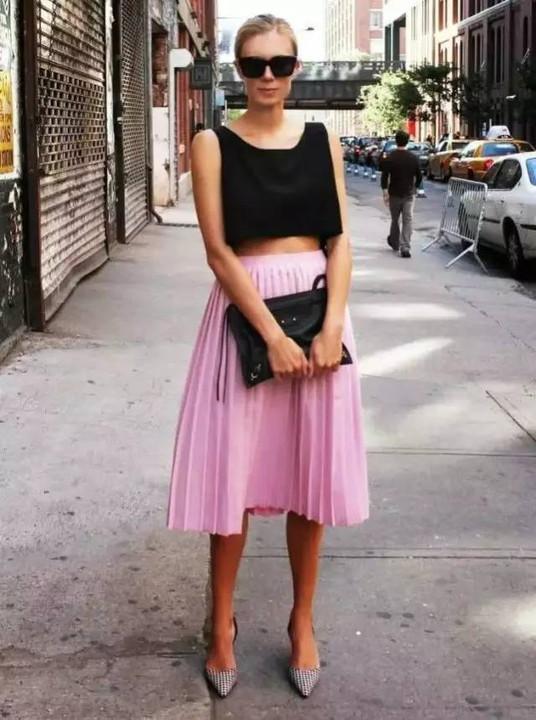 今年最流行的裙子是跟高圆圆一样美起来