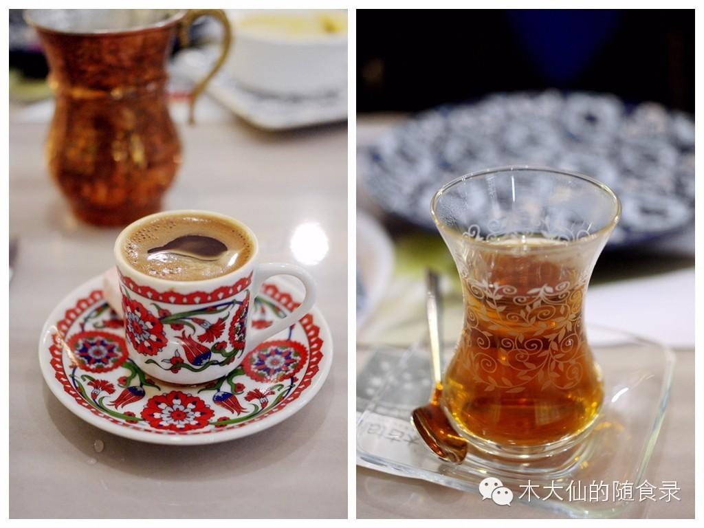 美食 阿拉丁/土耳其咖啡 和红茶