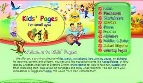14个免费儿童英语学习网站,原版英语儿歌、有