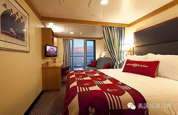 房间布置给游客们一种惬意的感觉.