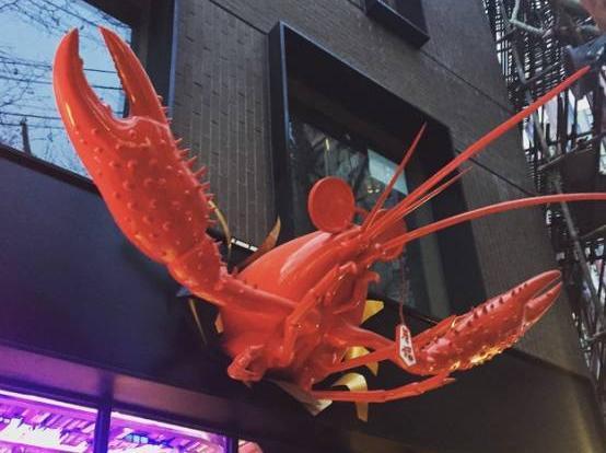 劲新餐厅大起底!小龙虾撑起半壁江山-微信公搞笑表情包的躺床图片