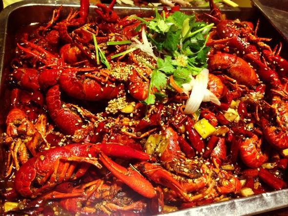 美食各地的夏天,麻辣小龙虾_搜狐美食_搜狐网图片素材的全国小报介绍图片