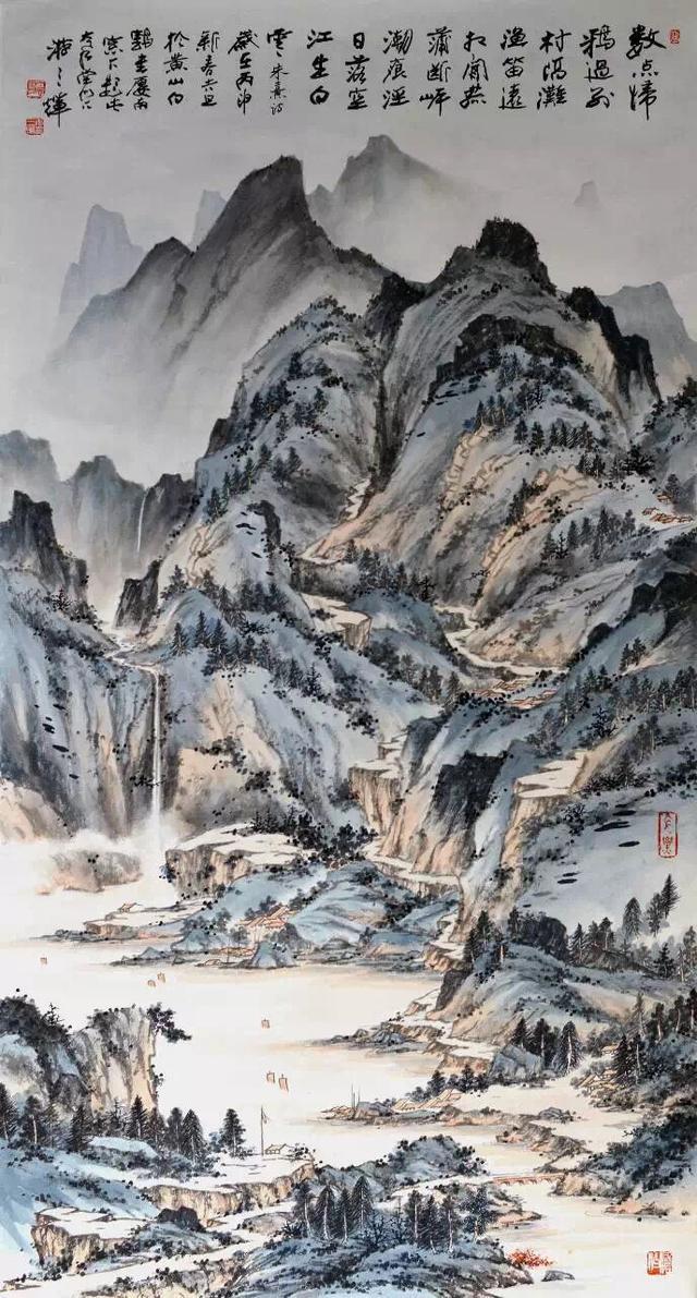 中国近现代画,非常有观赏价值图片
