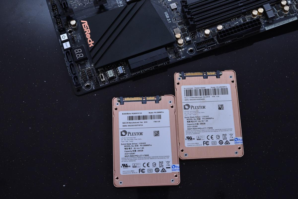 我用一个m2 SSD做系统盘,两个sata3接口ssd组raid0,还有一个机械...