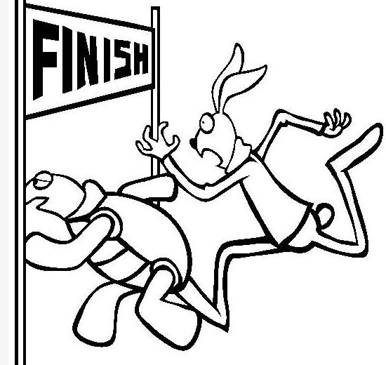 闪闪教英语 龟兔赛跑双语导读