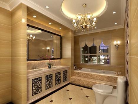 2016最新欧式古典卫生间装修效果图