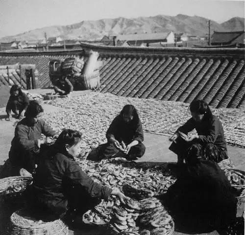 老照片:50年代时的中国百姓生活实况