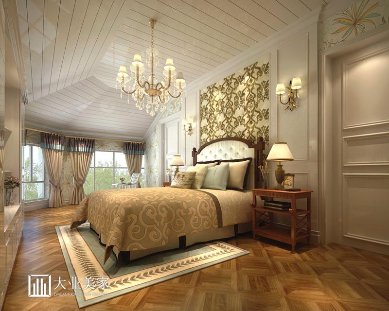 保利十二橡树480平米欧式别墅装修设计效果图
