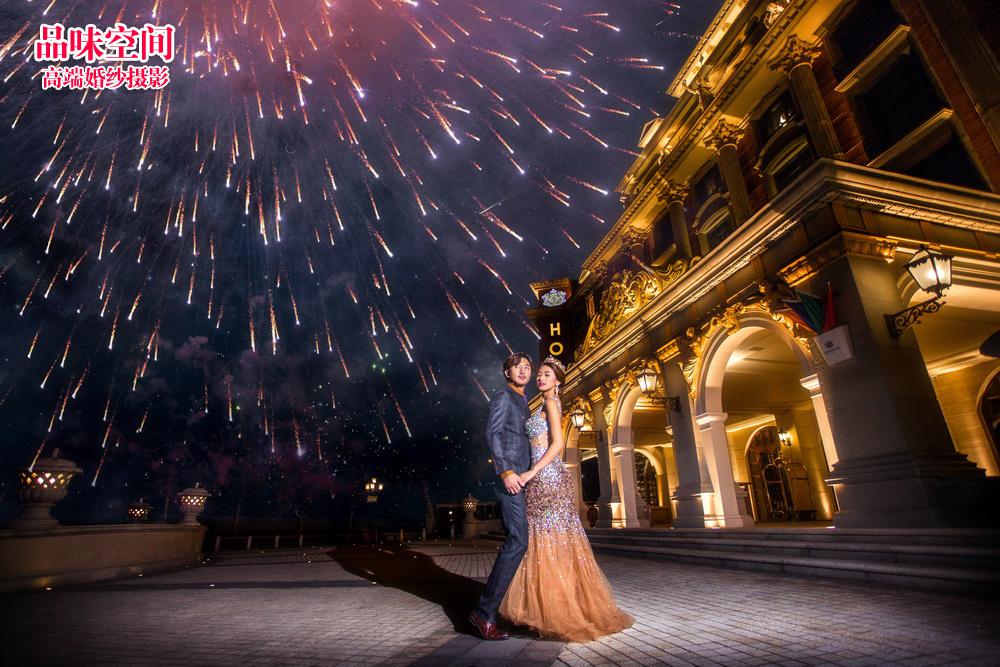 婚纱摄影:夜景婚纱照怎样拍好看