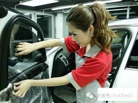 汽车贴膜,猫腻很多,假货充名牌很常见,怎么选?