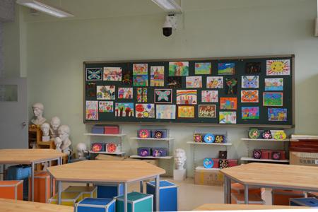 劳技教室里学生们精美的作品图片