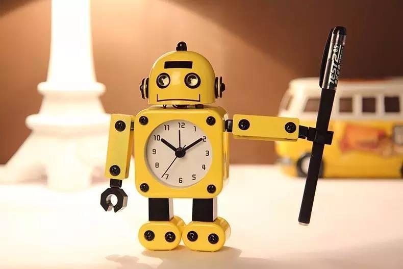 机器人闹钟图片