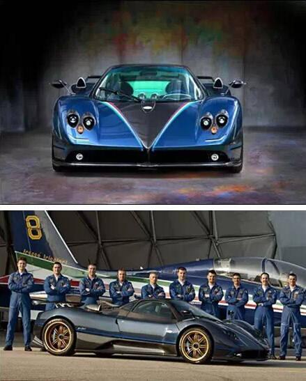 意大利著名超级跑车帕加尼公司推出了一款全新的zond