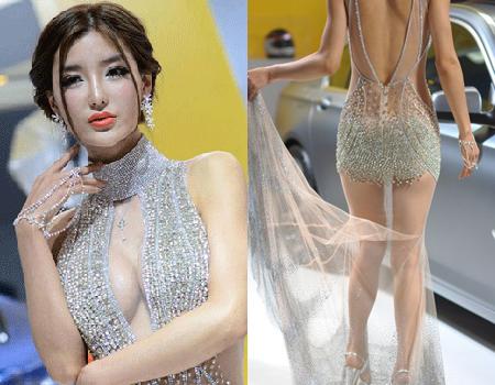 美臀人体艺术_北京车展取消车模是回归\