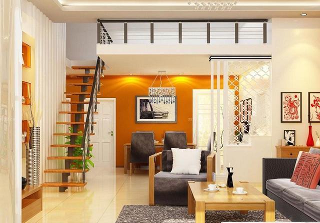 小户型复式楼装修设计-搜狐