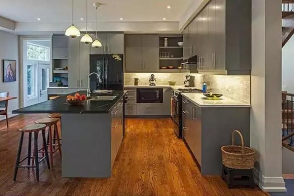 2016厨房装修效果图大全图片欣赏高清图片