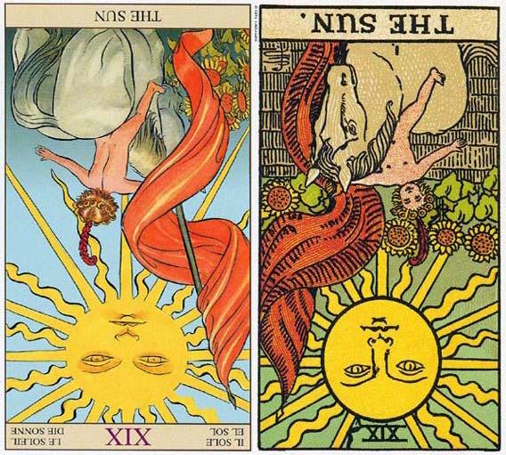 塔   罗   逆位   太阳 The Sun   桃花指数:25%   逆位太阳解析:太阳倒立可以象征对人生及创造性抱着一种竞争的态度。这是基于对不足的恐惧怕支援不够、怕机会或爱不够。这可能是一种根本性的恐惧,怕这个世界不会支持你的努力。在两性关系当中,它可能暗示两个相互竞争的人。   在接下来的五月,你的桃花指数并不是很高。你可能会很喜欢一个人,但是情况是你的单方面付出和喜欢更多一些。我很难说你将要遇到的这个人究竟值不值得,但你一定要记住,如果你爱的痛苦,那一定不是正确的爱。爱情不是单方面的牺