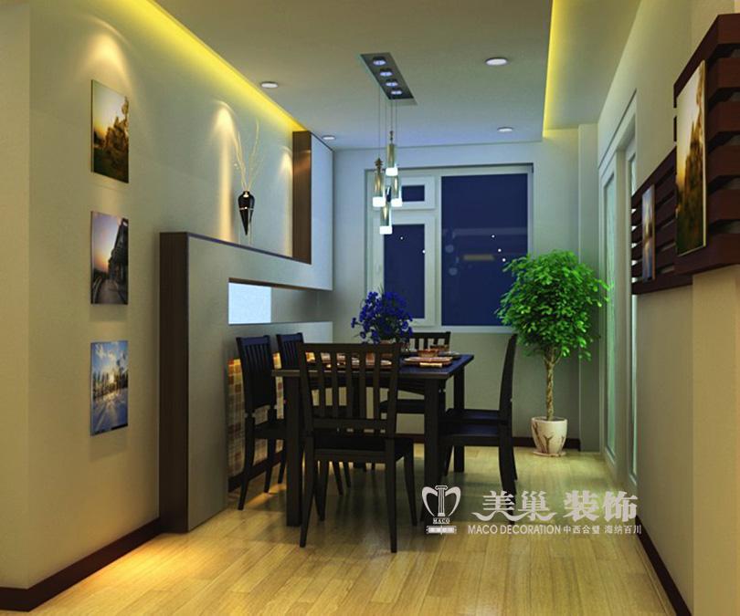小户型复式楼装修效果图 华林尚峰苑45平一居室