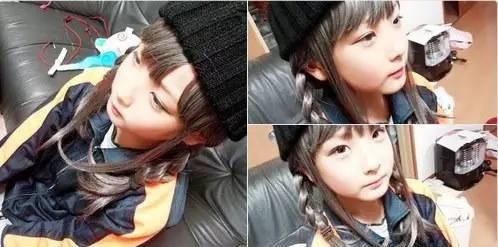 这个小学生男生被打扮成伪娘,成了日本的网红
