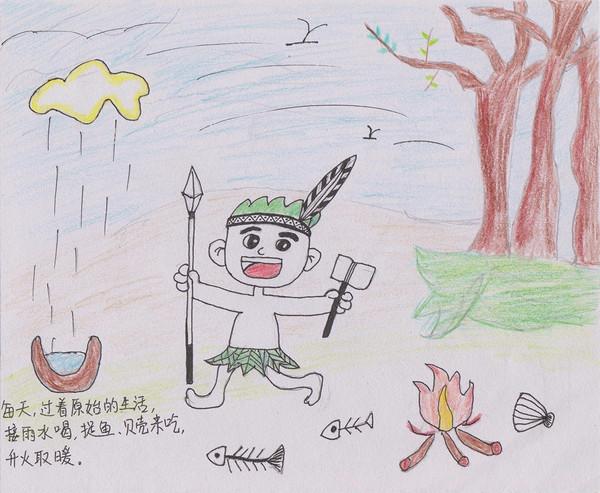 这竟然是小学生自己画的绘本!▎转角遇到书图片