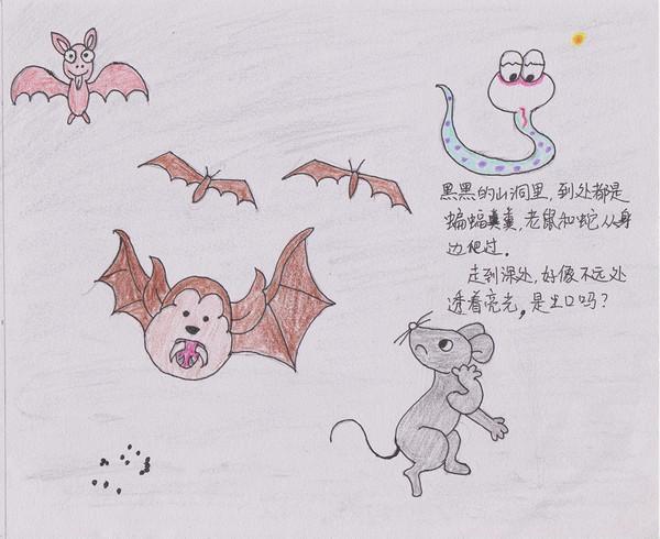 惊呆!这竟然是小学生自己画的绘本!年级遇到转角三课20小学图片