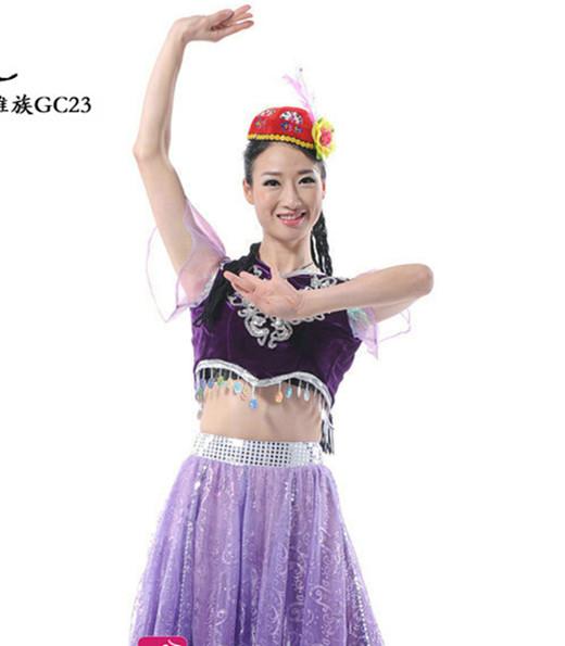 维族服装手绘色彩