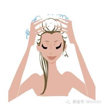 不经常洗头,又担心油脂堵塞毛孔.图片