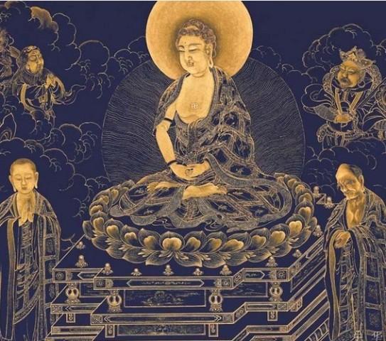阿弥陀佛代表光明无量,寿命无量,能够默默守护狗年和猪年出生的人