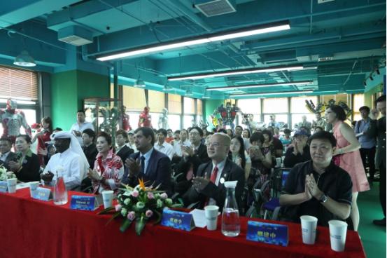 世界杯9球锦标赛亚台联中国办事处揭牌仪式