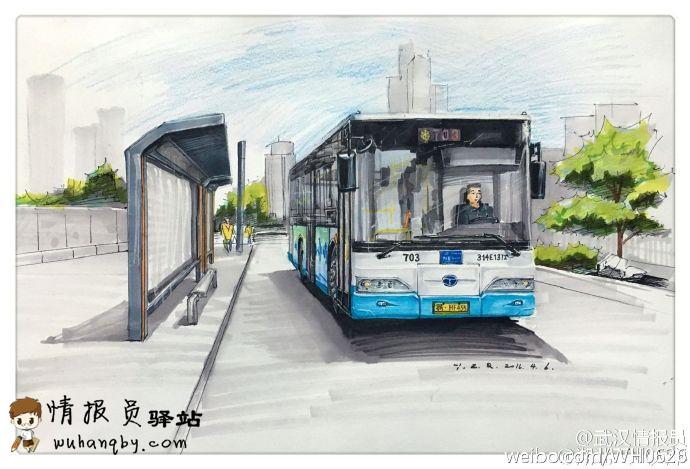 武汉公交车原来这么美