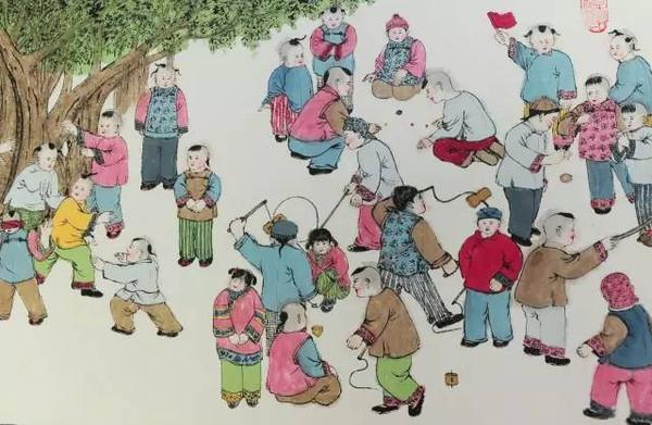 """七旬老人手绘""""还原""""52种老成都游戏!总理都看过他的"""