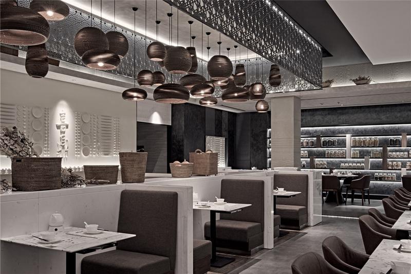 主题餐厅设计|中式餐厅设计-饺子馆餐厅装修设计