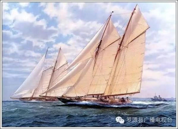 科技小制作各种洋帆船