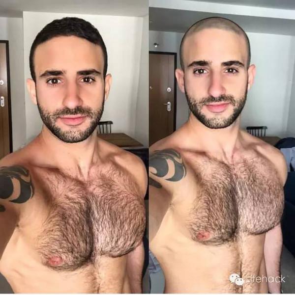 """寸头挑战"""",之前留中长发的男人们纷纷剃成寸头图片"""