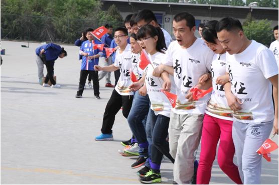 跨越青春凝聚力量——柴蔚趣味运动队挑战赛风格集锦