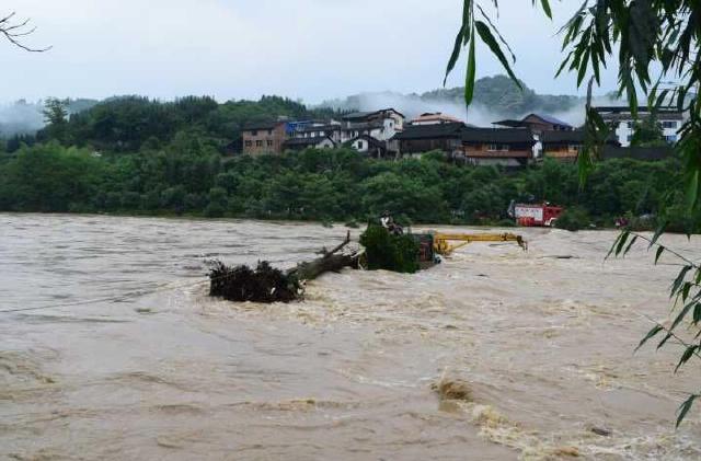 桂林持续大雨