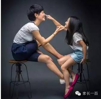 女孩看后瞬间长大 要让每个孩子看看父母二十年后的样子