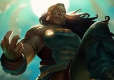 就连即将登场的新英雄塔利亚都是个非常秀的英雄