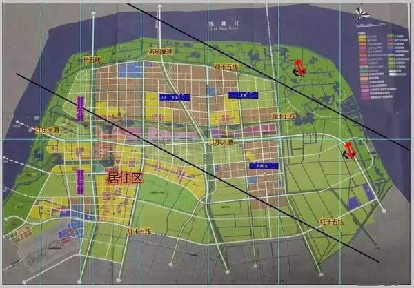网友图解大江东未来发展规划将是这个样子,你怎么看