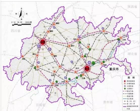 旅游 正文  (成渝范围示意图) 重庆市 渝中,万州,黔江,涪陵,大渡口图片