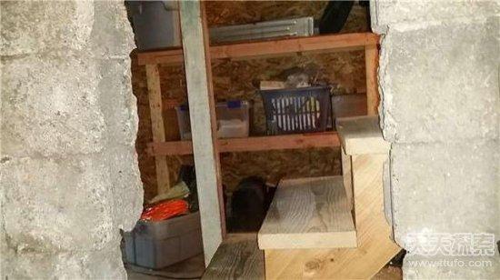 买房发现密室里面东西让人疯狂(图)