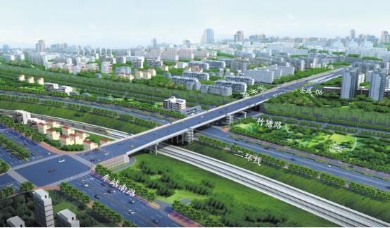 萍乡井冲道路规划图
