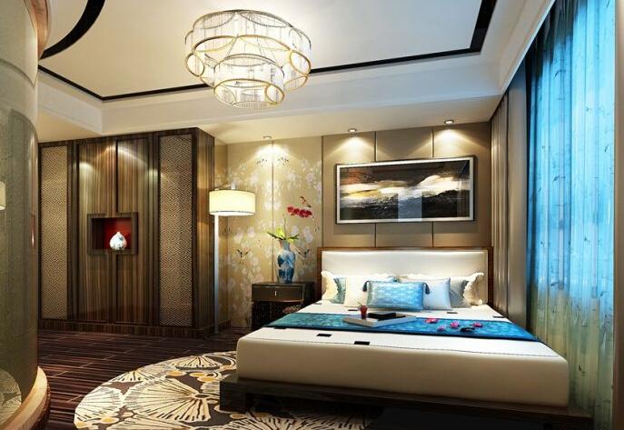 背景墙 房间 家居 起居室 设计 卧室 卧室装修 现代 装修 687_473图片