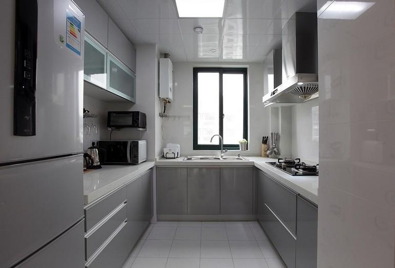 3,关于银灰色厨房装修