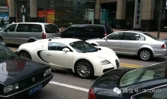 中国第一台上牌布加迪,车牌号尽然是这样
