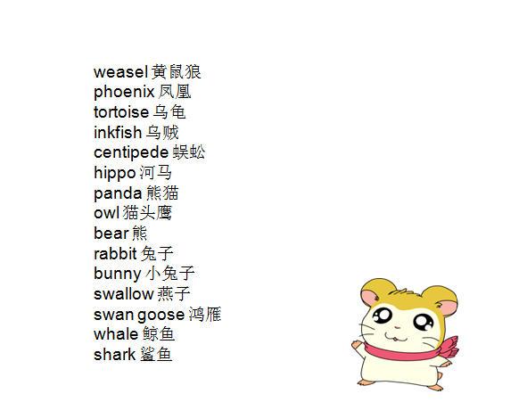 2天就能记完!小学所有动物英语单词全在这里