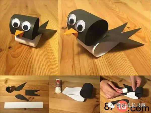 【育乐分享】亲子手工多款小动物的制作图解教程