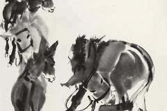 大画家黄胄 与驴的情缘图片