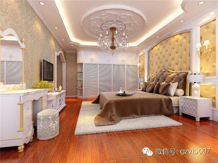2016火热!欧式风格卧室装修效果图